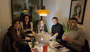 Treffen PR-Team